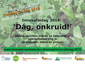 Impressie informatieve Innovatiedag 'Dag, Onkruid!'