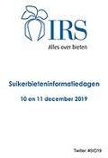 Presentaties Suikerbieteninformatiedagen 2019