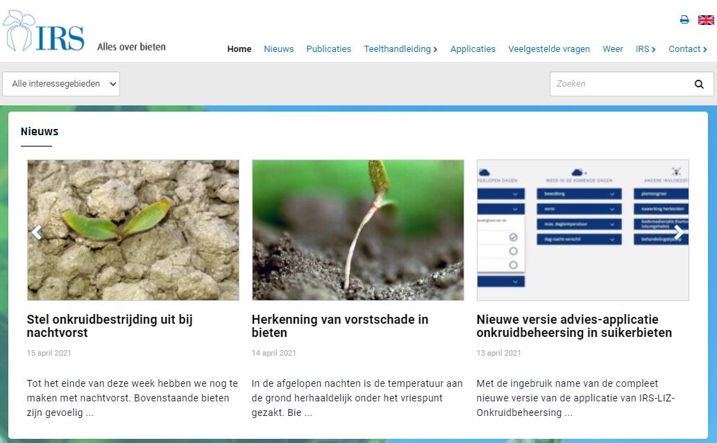 www.irs.nl vernieuwd